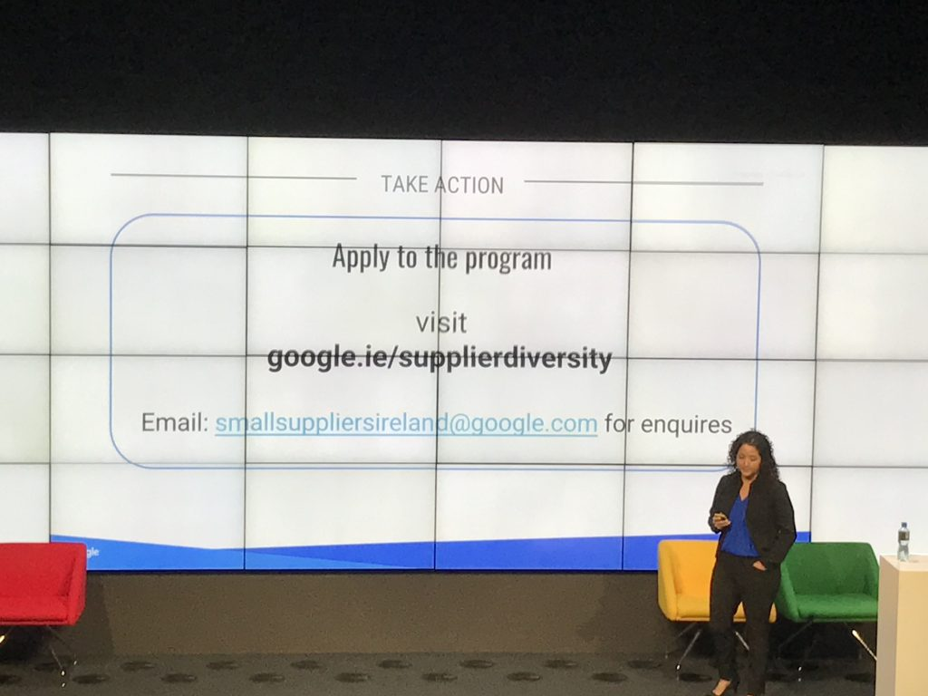 Google Small Business Supplier Diversity Program URL
